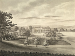 South View of Holm Lacey, near Hereford
